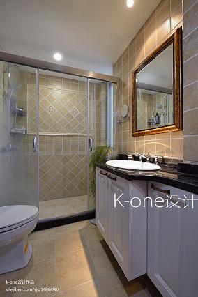 精选面积137平复式卫生间混搭实景图片
