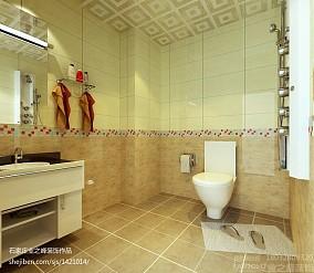 精美93平米三居卫生间现代装饰图片欣赏