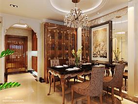 131平米欧式复式餐厅欣赏图