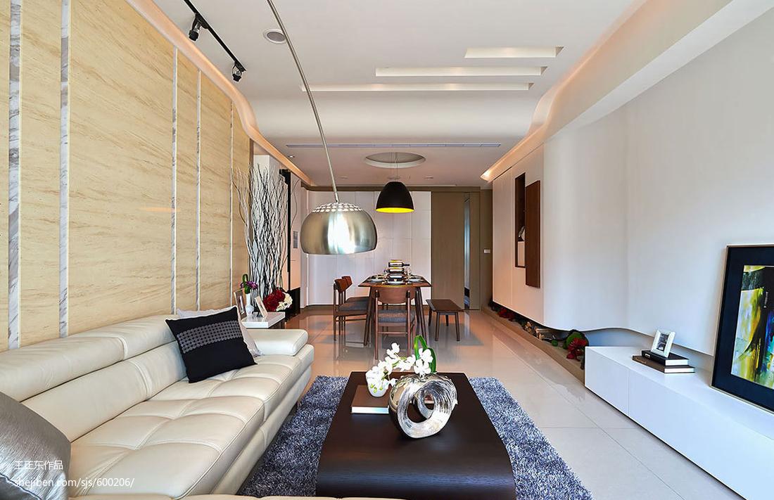 现代风格客厅背景墙装修效果图大全客厅沙发现代简约客厅设计图片赏析