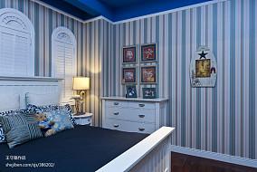 热门144平米地中海别墅卧室欣赏图