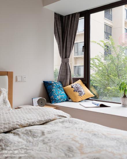 105平米三居卧室地中海欣赏图片大全卧室