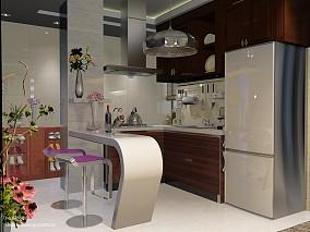 小户型厨房现代设计效果图
