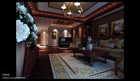 白色室内装修门效果图
