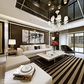 现代黑色二手沙发