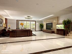 热门137平米四居客厅中式装修图片