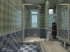 热门地中海三居卫生间效果图片欣赏