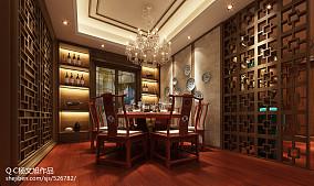 热门餐厅中式效果图片大全