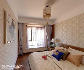 精选128平米四居卧室中式装修设计效果图片
