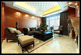 美式6平米客厅