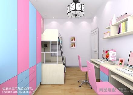 热门现代二居儿童房装修欣赏图片
