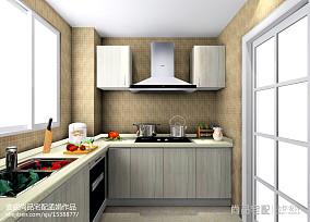 2018精选现代二居厨房装修实景图片欣赏