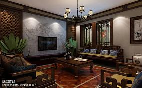 精选132平米美式别墅客厅装修效果图