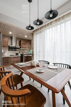 93平米三居厨房混搭实景图