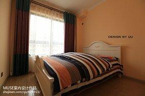 精美面积97平欧式三居儿童房装修实景图