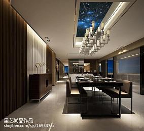 热门122平米四居餐厅新古典欣赏图