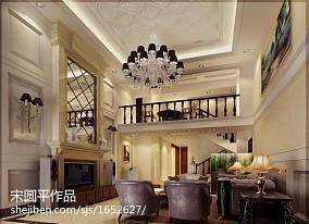 热门欧式复式客厅欣赏图片大全