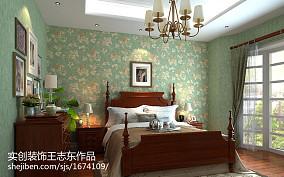 201893平米三居卧室美式实景图片