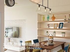 热门面积83平田园二居装修图片欣赏