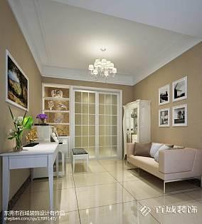 精美面积106平欧式三居休闲区装修实景图片大全