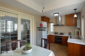 2018精选120平米美式复式厨房装修图