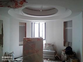 精美面积108平欧式三居餐厅装修设计效果图片