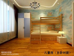 精选面积97平欧式三居卧室实景图
