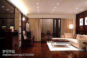 精美127平米四居客厅现代装修设计效果图片欣赏