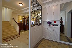 热门137平米四居玄关欧式装修实景图片
