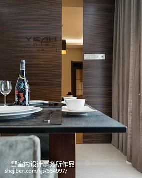 精选三居餐厅现代装修实景图片欣赏