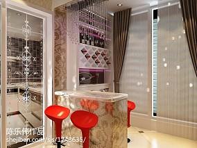 现代风格卧室墙纸装修