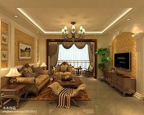 精选112平米四居客厅美式效果图片大全