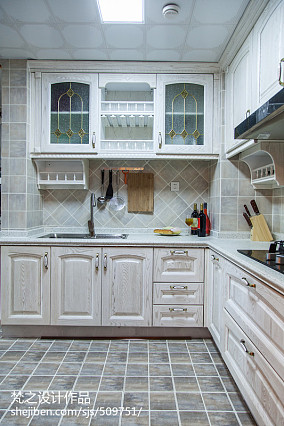 2018精选100平米三居厨房现代装修实景图片大全