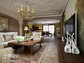精美119平米混搭别墅客厅装修实景图片