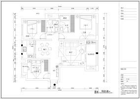 精选92平米三居客厅现代装饰图片