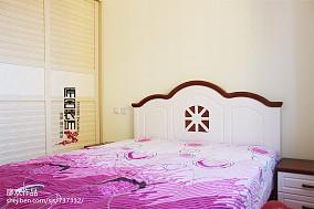 热门田园三居卧室欣赏图