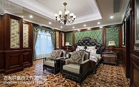 美式风格别墅卧室
