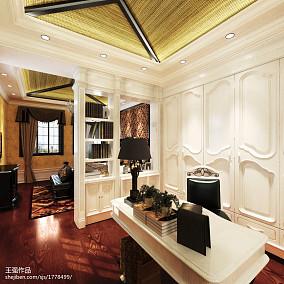 112平米欧式别墅卧室装饰图片大全