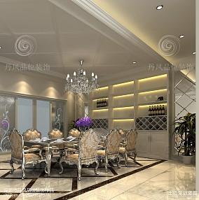 144平米欧式别墅餐厅装修设计效果图片