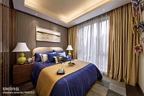 精美中式卧室装修效果图片大全