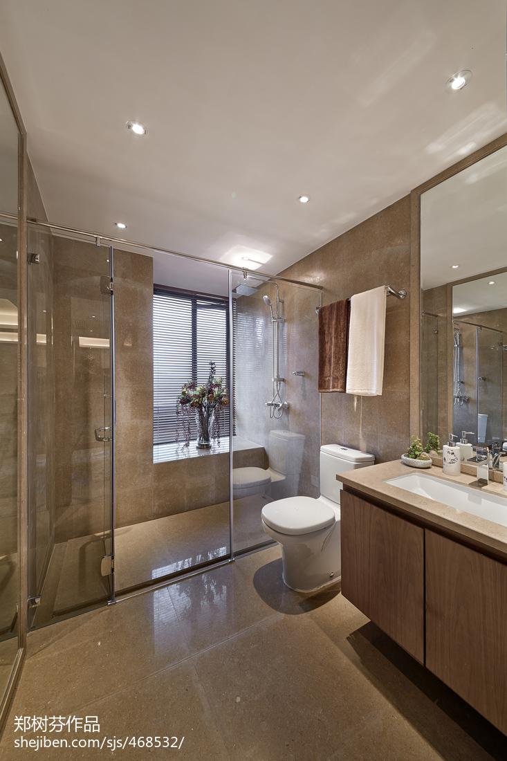 热门卫生间中式欣赏图片大全卫生间中式现代卫生间设计图片赏析