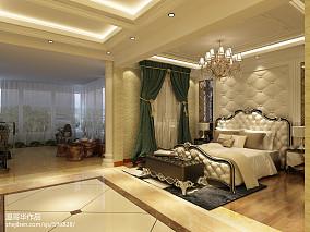 热门面积131平别墅卧室欧式装修效果图片
