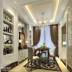 精选140平米欧式别墅餐厅欣赏图片