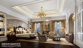 热门118平米新古典别墅客厅装修图