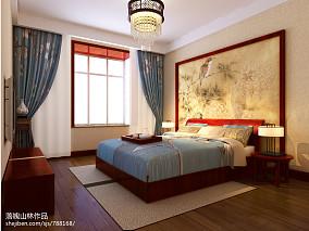 精美142平米四居卧室中式实景图片欣赏