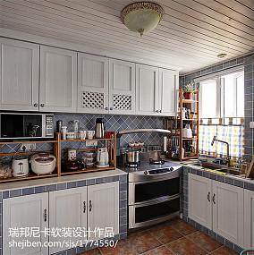 精选120平米四居厨房地中海实景图片欣赏
