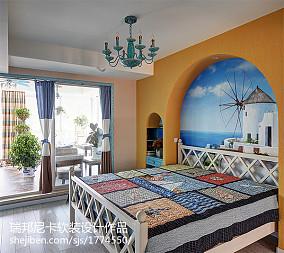 精选地中海四居卧室装修效果图