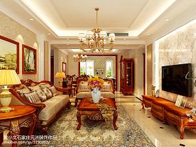 97平方三居客厅欧式效果图片
