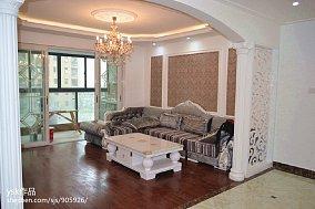 三居客厅欧式装饰图