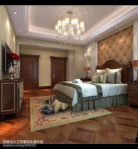 欧式四居卧室装饰图片